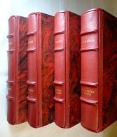 VIRGILE. L'ENEÏDE, LES BUCOLIQUES , LES GÉORGIQUES, LUCRECE, 4 VOL. N° 2881 TBE - Livres, BD, Revues