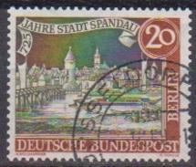 Berlin 1957 MiNr.159  O Gest. 725 Jahre Stadt Spandau ( B 229 ) - Gebraucht