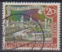 Berlin 1957 MiNr.159  O Gest. 725 Jahre Stadt Spandau ( B 230 ) - Gebraucht
