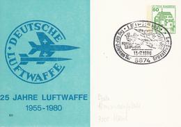 NPP 104/84  25 Jahre Marine 1955-1980, Burg Auf Fehmarn 1 - Privatpostkarten - Gebraucht
