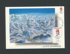 Alberville, Le Site Olympique, Premier Jour, 12/1990. - Albertville