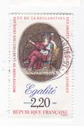 2,20 FRANCS - 1989 - EGALITE - BICENTENAIRE De La REVOLUTIONet De LA DECLARATION Des DROITS De L'HOMME - France