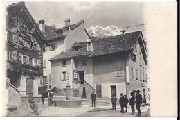 FAIDO: Animierte Dorfpassage Mit Pferd 1908 - TI Tessin