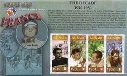 Tim342 100 Ans Du Tour De France 1949 1950 1951 1952 Coppi Kubler Koblet Vélo Bicycle Bicyclette Course - Grenada (1974-...)