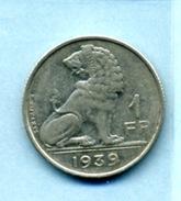 1939 1 FRANC - 1934-1945: Leopold III