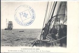 Cliché Des Oeuvres De Mer De Paris L'assistance En Mer La Bernadette De Bayonne Sur Le Grand Banc De Terre-neuve - Fishing Boats
