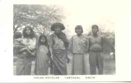 INDIAS MATACAS TARTAGAL SALTA ARGENTINA CIRCA 1920 CPA RARISIME TOP COLLECTION UNCIRCULATED UNIQUE EN DELCAMPE - Folklore
