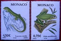 Monaco  2004  Frogs +.. 2 V  MNH