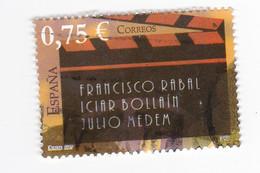0,75 EUROS - Francisco RABAL- IciarBOLLAIN - Julio MEDEM - Hommage Au Cinéaste - 1931-Oggi: 2. Rep. - ... Juan Carlos I