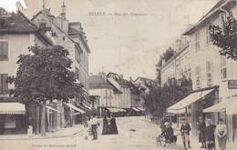 BELLEY. - Rue Des Capucins. Superbe Carte RARE - Belley