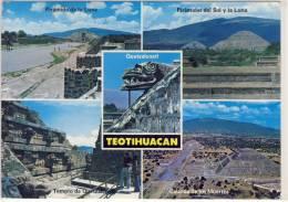 TEOTIHUACAN, Quetzalcoatl, Piramide De La Luna, Del Sol Y La Luna, Trmplo De Quetzalcoatl, Calzada De Los Muertos - México