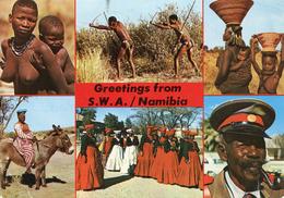 SWA (Namibia) - Multi View - Woman - Femme - Namibia