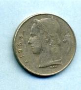 1963  1 FRANC BELGIË - 1934-1945: Leopold III