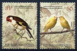 Macedonia 2015 Canaries MNH - Macedonië