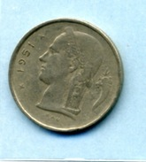 1951  1 FRANC BELGIQUE - 1934-1945: Leopold III.