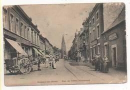 35082  -   Jemeppe  Sur  Meuse  Rue De L'hôtel Communal - Attelage - Seraing