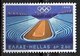 PIA - GRECIA  - 1968  : Giochi Olimpici A Citt° Del Messico  - (Yv 967-69)