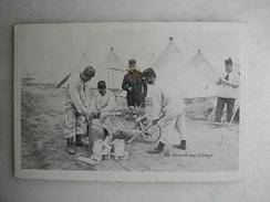 MILITARIA - La Corvée Au Camp - Caserme