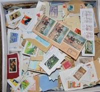 Vrac De + De 1 Kg De TIMBRES - FRANCE - OBLITERES Sur Fragments - Mise à Prix 1 Euro ! A SAISIR - Lots & Kiloware (mixtures) - Min. 1000 Stamps