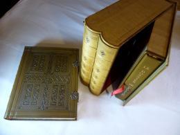 LIVRE LES FIORETTI RELIURE CUIR ENLUMINURES , 2 VOL. Numérotés Sur Vélin De Lana N° 1166 TBE - Livres, BD, Revues