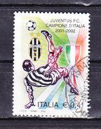 2002 JUVENTUS SCUDETTO  0,41 €  USATO - 6. 1946-.. Repubblica