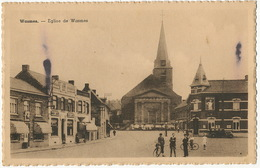 Wasmes Eglise  Pub Belga  Edit A. Cuvelier - Belgium