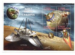 St. Vincent, 2012 Space, Espace (Nr. 7077/7080)