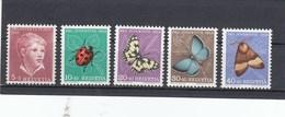 Suisse - Neufs**  -  Pro Juventute - Année 1952 - YT 526/530