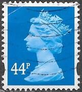 GB - Machin - 44p - Oblitéré - 1952-.... (Elisabetta II)