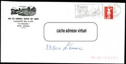Lettre De LUSSAC (Gironde) - Flamme Illustrée