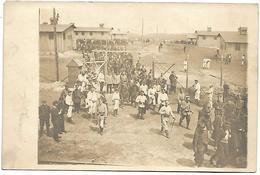 ALLEMAGNE - Départ De La I Compagnie Au Travail  - Prisonniers -  CARTE PHOTO - Deutschland
