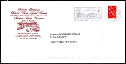 Lettre De SAINT-EMILION (Gironde) - Flamme Illustrée