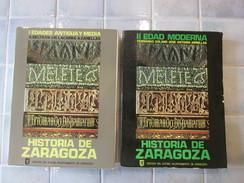 Historia De Zaragoza . Edad Moderna Antigua Y Media - Cultural