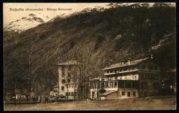 Pialpetta - Albergo Baraccone - Viaggiata 1930 - Rif. 04082 - Italia