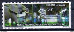 Spanien 'Naturkundemuseum, Elefant U. Stegodon' / Spain 'Museum Of Natural History, Elephant & Stegodon' **/MNH 2016