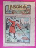 051 - L'Echo Du Noël De Septembre 1929 - Le Diner De Bernard - L'Echo Du Noël