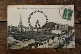 75, PARIS, LA TOUR EIFFEL, LA GRANDE ROUE ET LA GALERIE DES MACHINES - Tour Eiffel