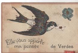 CPA 41 - Pensée De VERDES - Peu Courante - France