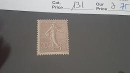 LOT 342778 TIMBRE DE FRANCE NEUF* N°131 VALEUR 75 EUROS