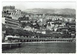 MONACO La Condamine, L'hôtel Renaissance,  Et Le Ravin De Ste Dévote - Projet De Carte Format 10x 15 -  Bon état - Monaco