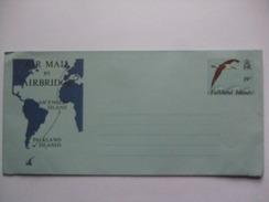 FALKLAND ISLANDS AEROGRAMME - ALBATROSS - UNUSED - Falkland Islands