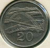Zimbabwe 20 Cents 1980 KM 4 - Zimbabwe