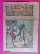 053 - Echo Du Noël De Novembre 1929 - L'étrange Protecteur - L'Echo Du Noël