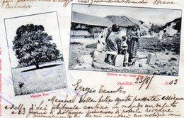 ZANZIBAR - NATIVES AT THE WATER PIPE - VIAGGIATA - Tanzania