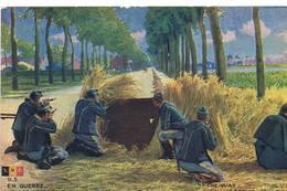 447 En Guerre Belges Defendant Une Oute - Guerre 1914-18