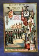 Chromo Liebig S873 Etendard Drapeau Flag Armée Russe Russian Army Russia Russie - Liebig