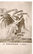 459 La Resistance IXELLES - Guerra 1914-18