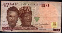 NIGERIA 1000 Naira 2009 G P-36 - Nigeria