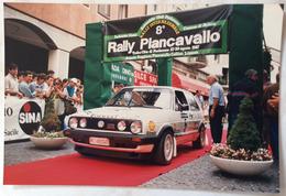 1987 8° RALLY INTERNAZIONALE PIANCAVALLO MASSIMO ERCOLANI CHIAPPONI MASSIMO REPUBBLICA SAN MARINO / VOLKSWAGEN GOLF - Corse Di Auto