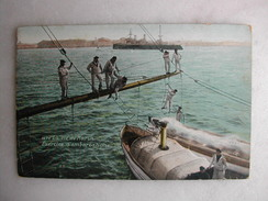 MILITARIA - La Vie Du Marin - Exercice D'embarcation - Manoeuvres